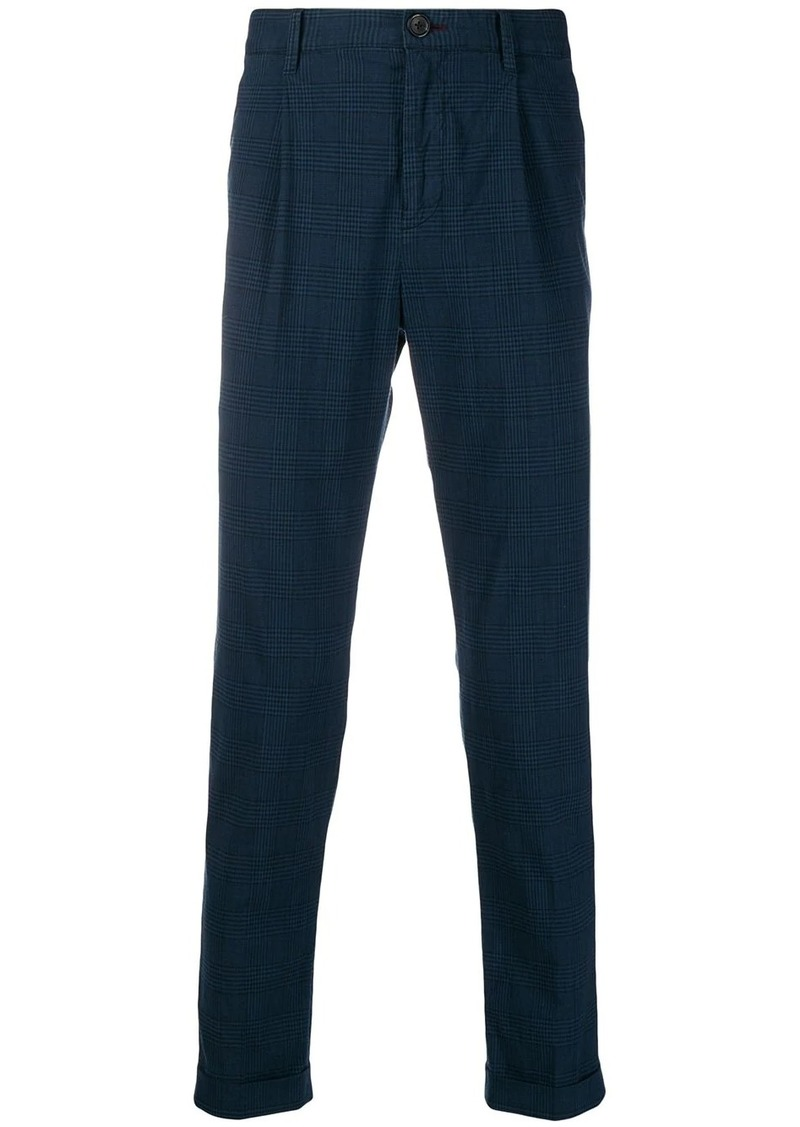 Paul Smith plaid tailored trousers
