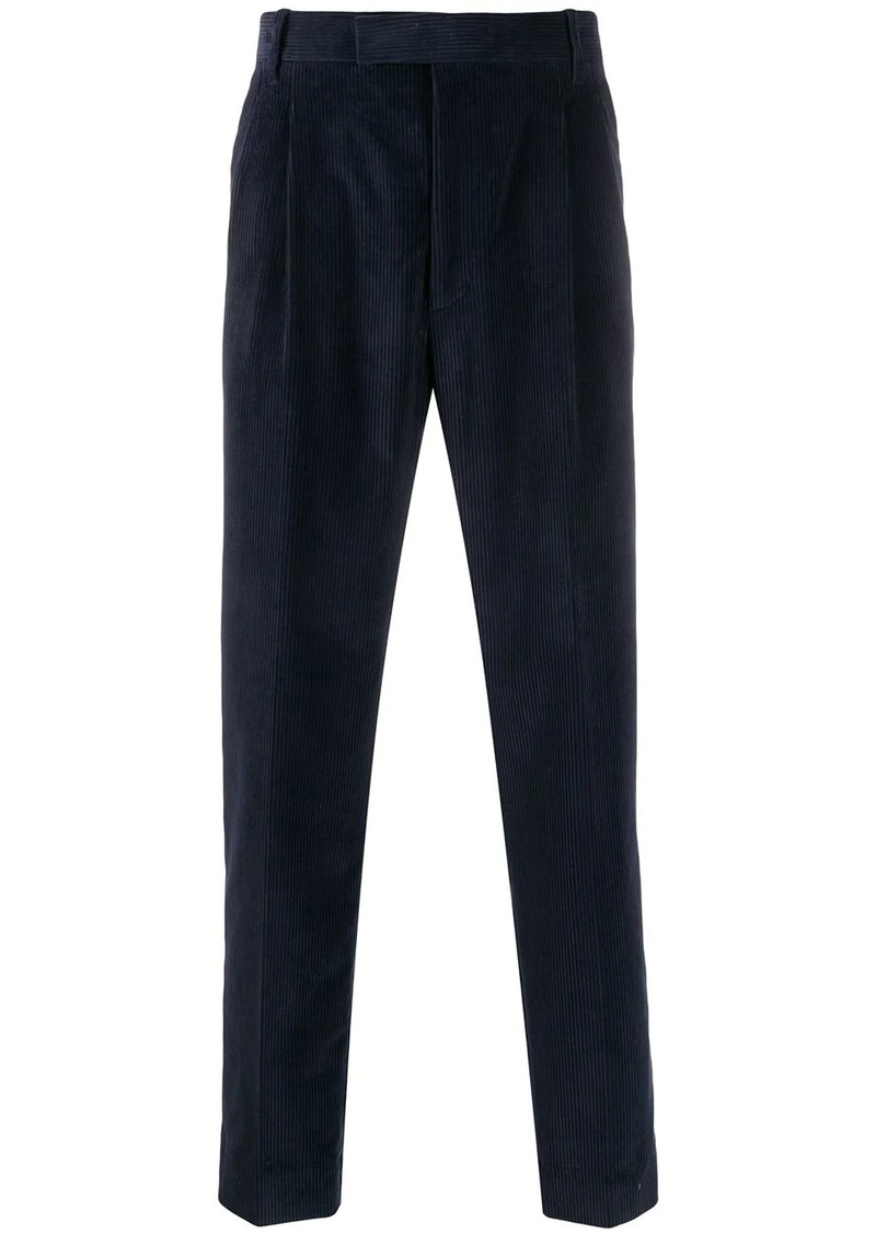 Paul Smith pleated corduroy trousers