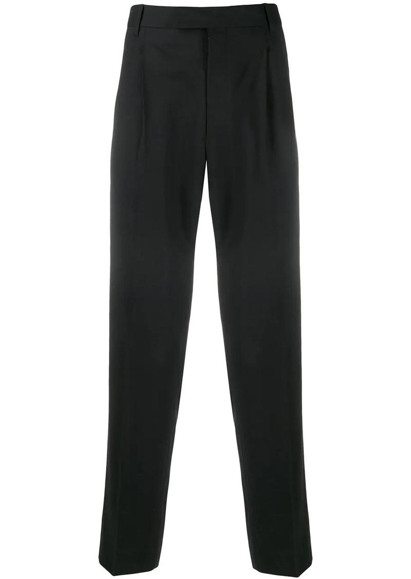 Paul Smith pleated straight leg trousers