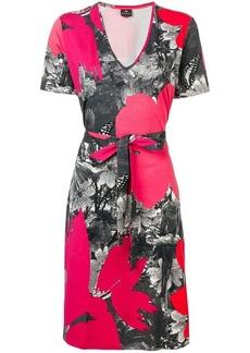 Paul Smith print wrap dress