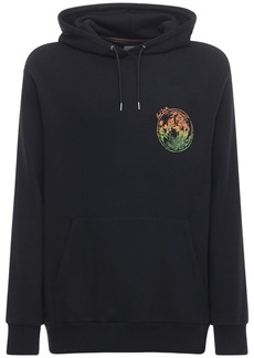 Paul Smith Printed Cotton Blend Jersey Hoodie