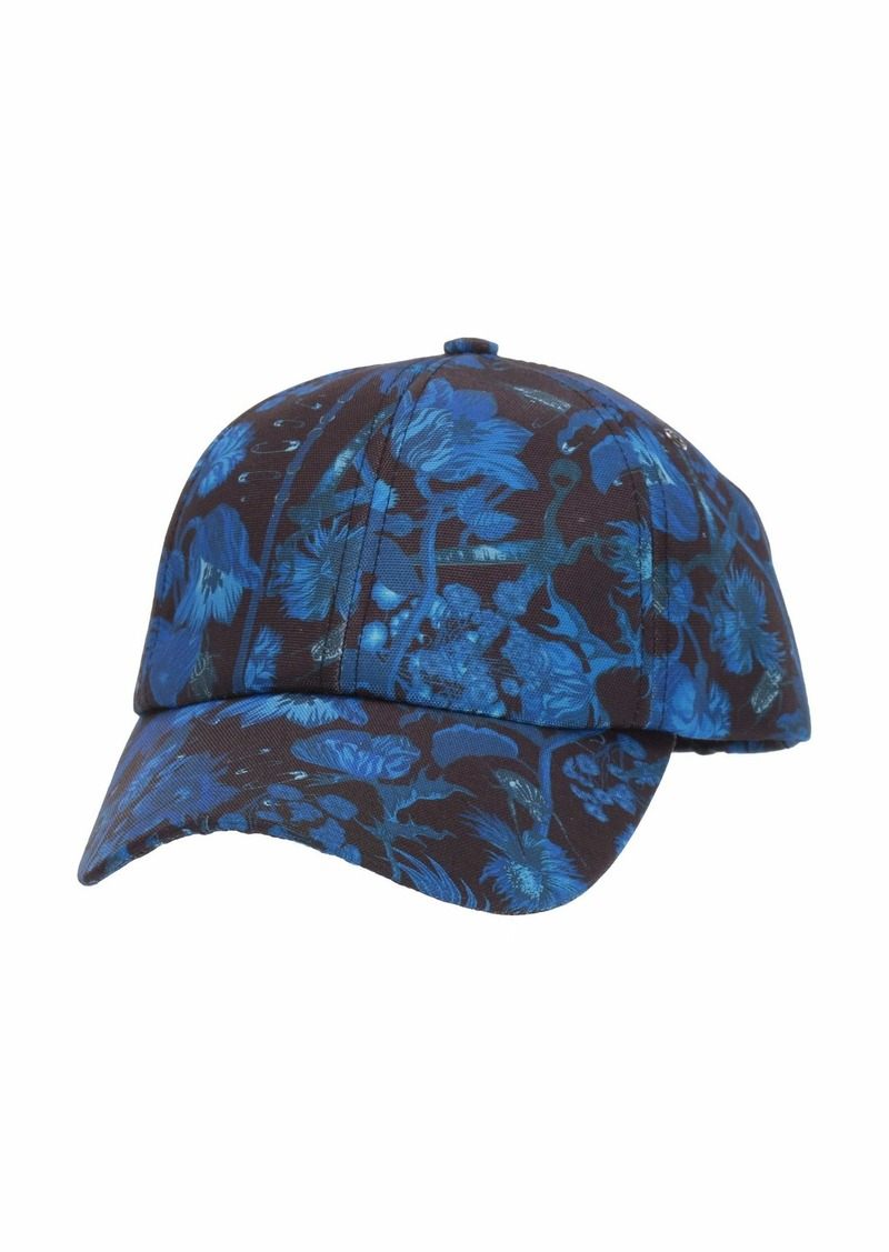 Paul Smith Printed Floral Baseball Cap