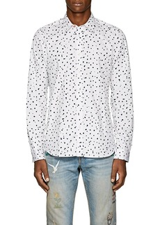 PS by Paul Smith Men's Dot-Print Cotton Shirt