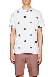 PS by Paul Smith Men's Dotted Cotton T-Shirt