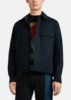 PS by Paul Smith Men's Embroidered Cotton Work Jacket