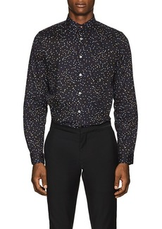 PS by Paul Smith Men's Pin-Print Cotton Poplin Shirt