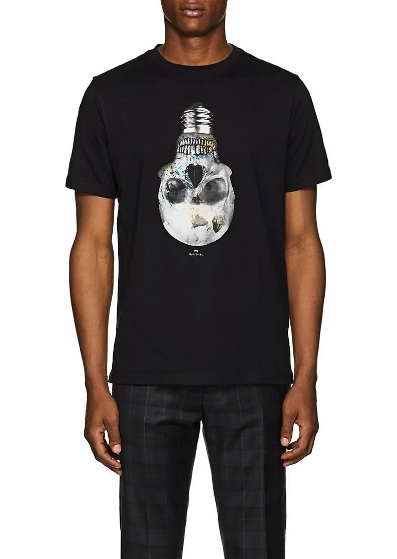 dee498e2d4dd Paul Smith PS by Paul Smith Men s Skull Bulb-Print Organic Cotton T ...