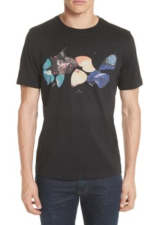 PS Paul Smith Butterfly Graphic T-Shirt