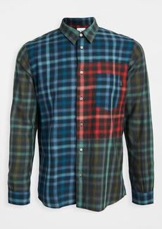 PS Paul Smith Casual Fit Patched Long Sleeve Shirt