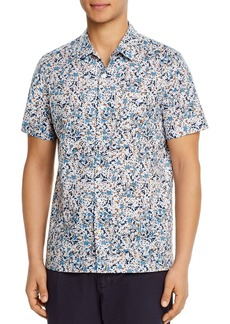 PS Paul Smith Casual Floral Regular Fit Camp Shirt