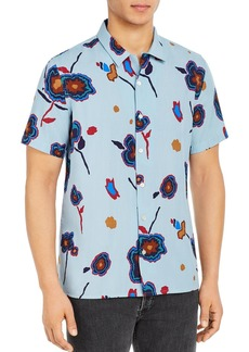 PS Paul Smith Casual Floral Regular Fit Shirt