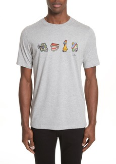 PS Paul Smith Clown Graphic T-Shirt