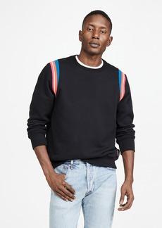 PS Paul Smith Crew Neck Sweatshirt with Stripes