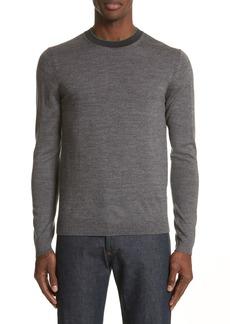 PS Paul Smith Crewneck Merino Wool Blend Sweater