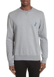 PS Paul Smith Dino Embroidered Crewneck Sweatshirt