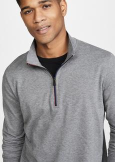 PS Paul Smith Long Sleeve Quarter Zip Polo Shirt