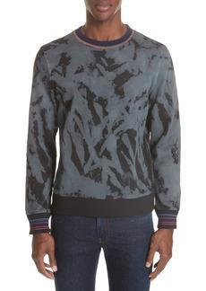 PS Paul Smith Marble Crewneck Sweatshirt