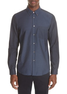 PS Paul Smith Mixed Print Sport Shirt