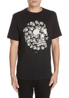 PS Paul Smith Monkey Skull Graphic T-Shirt