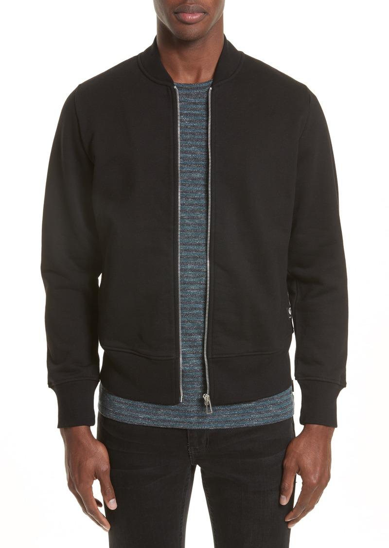 231921ebb2d36 Paul Smith PS Paul Smith Organic Cotton Jersey Sweatshirt Bomber Jacket