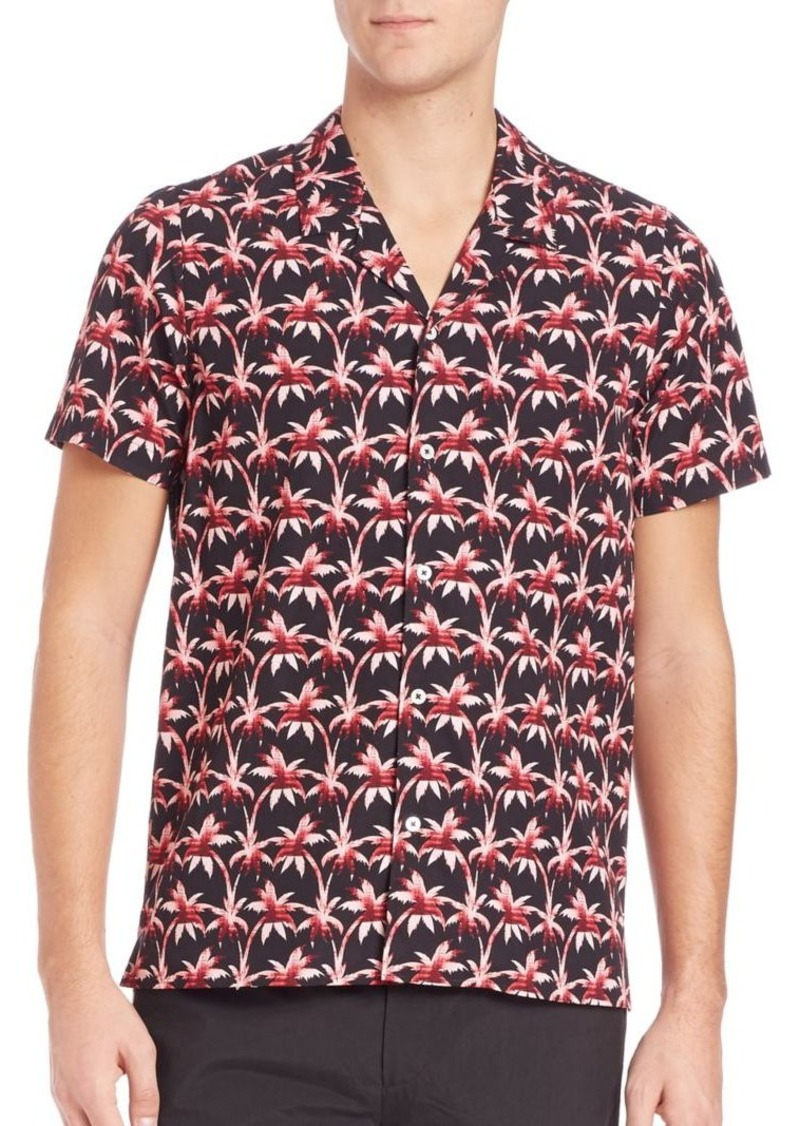 PS Paul Smith Palm Tree Shirt