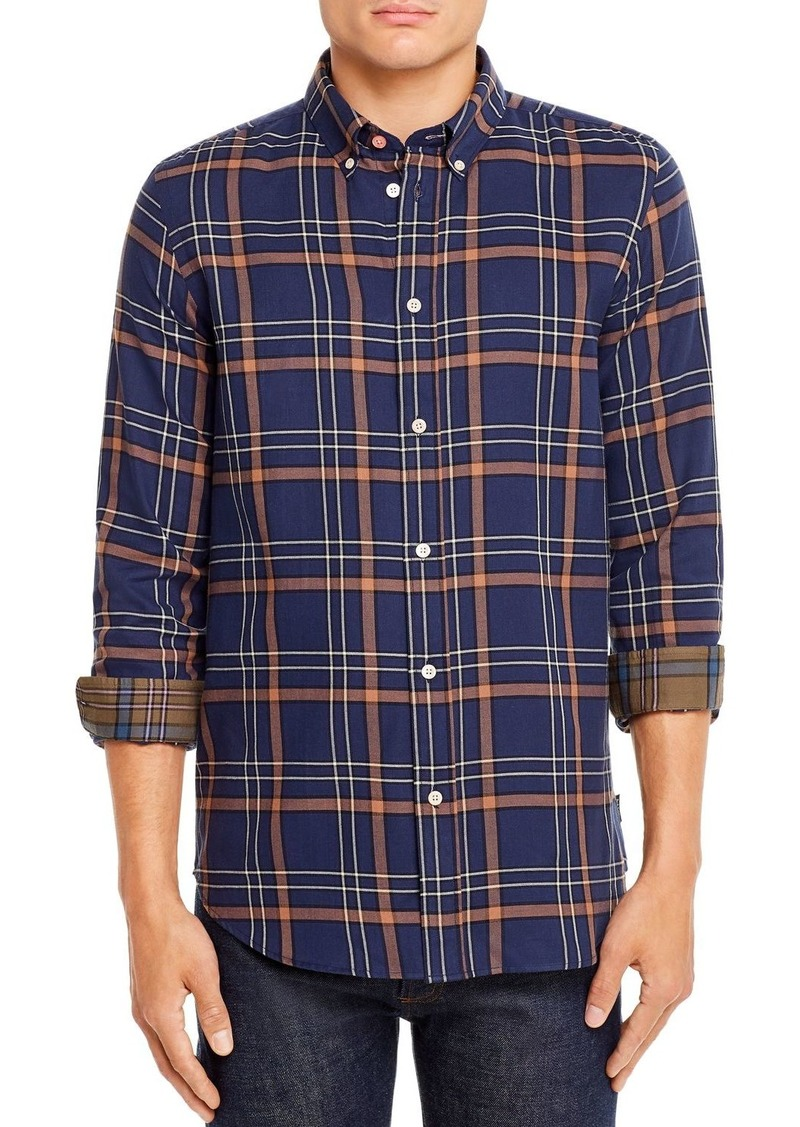 PS Paul Smith Plaid Tailored Regular Fit Button-Down Shirt
