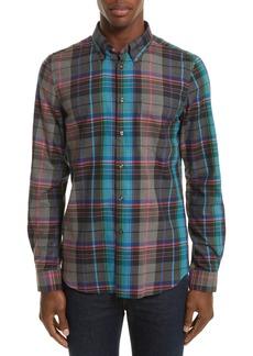 PS Paul Smith Plaid Woven Shirt