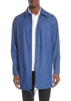 PS Paul Smith Rubberized Long Coach's Jacket