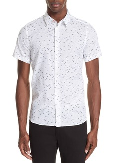 PS Paul Smith Shark Print Shirt