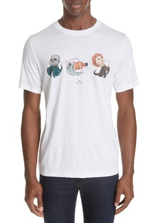 PS Paul Smith Shipwreck Graphic T-Shirt