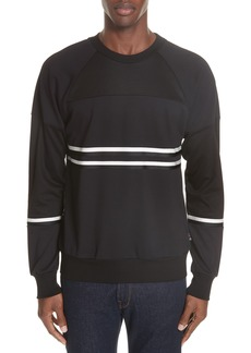 PS Paul Smith Stripe Trim Sweatshirt