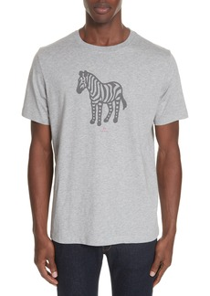 PS Paul Smith Zebra Organic Cotton T-Shirt