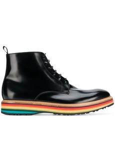 Paul Smith rainbow pattern boots