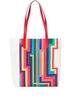 Paul Smith rainbow stripe tote bag