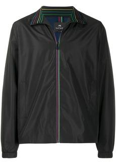 Paul Smith rainbow trim shell jacket