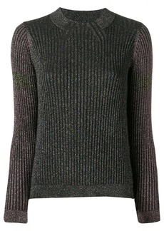 Paul Smith ribbed knit sparkle sweater