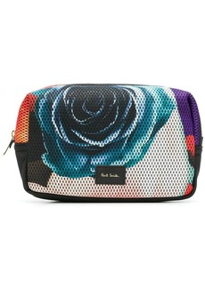 Paul Smith Rose Collage wash bag