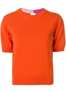 Paul Smith round neck knitted top