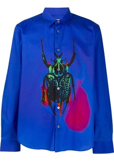 Paul Smith scarab print shirt