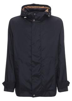 Paul Smith Short Tech & Cotton Parka Coat