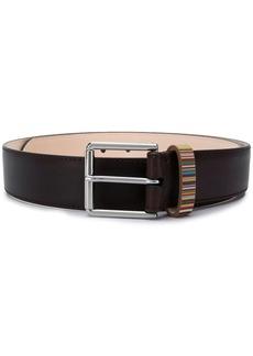 Paul Smith Signature Stripe buckled belt