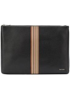 Paul Smith signature stripe document pouch