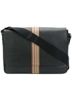 Paul Smith signature stripe messenger bag