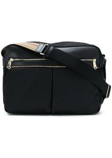 Paul Smith signature stripe trim messenger bag