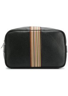 Paul Smith signature stripe wash bag