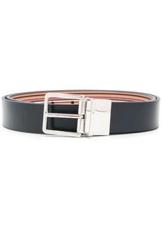 Paul Smith signature-stripes reversible belt