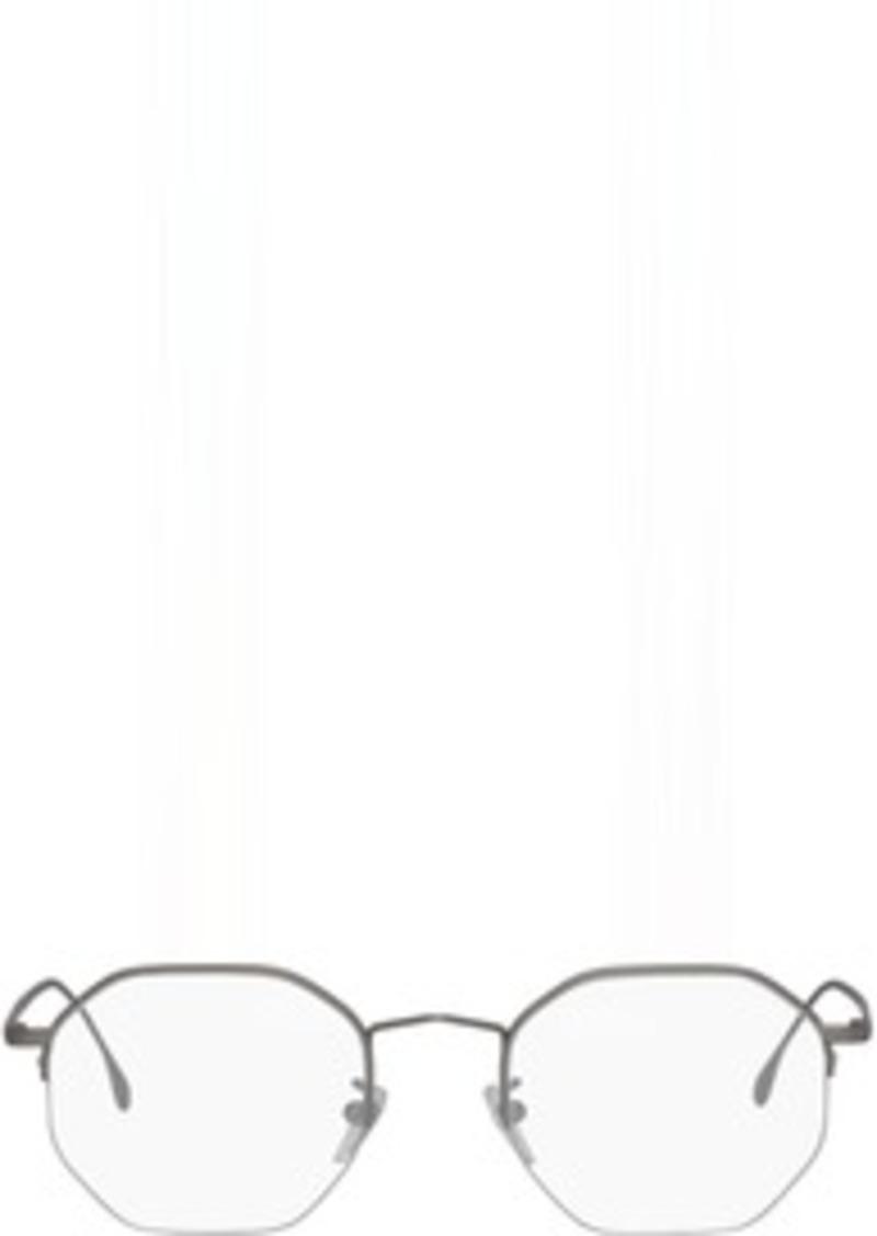 Paul Smith Silver Matte Brompton Glasses