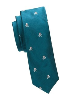 Paul Smith Skull Narrow Silk Tie