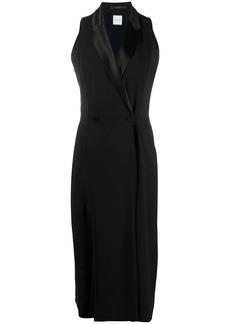 Paul Smith sleeveless tuxedo midi dress