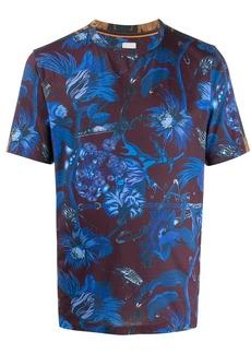 Paul Smith slim fit printed T-shirt